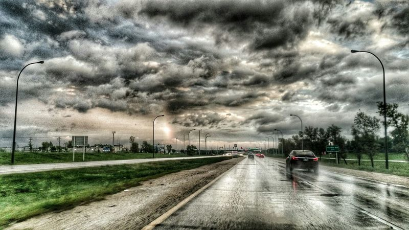 I was trying to take a picture of a vertical Rainbow but after Playing With Filters it was just Mothernature 's way of distracting us from the Storm Clouds that were there. Landscapes With WhiteWall Here Belongs To Me The Moment - 2016 Eyeem Awards The Street Photographer - 2016 EyeEm Awards Need For Speed Mein Automoment The Drive Welcome To Black