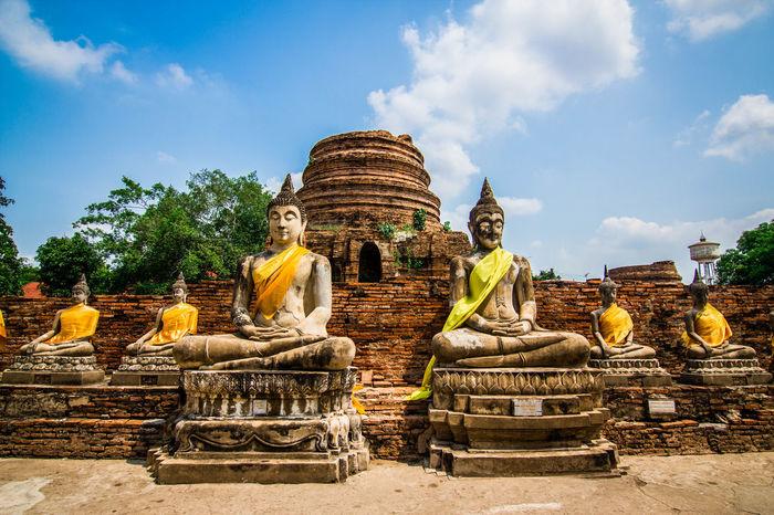Architecture Travel Destinations Architecture Sky Lord Buddha Religion Merit Ancient