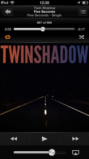 What Are You Listening To? Twin Shadow Great Tunes