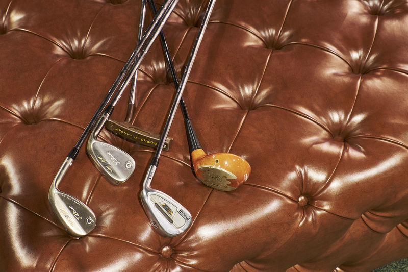 Brown Game Golf Golf Is My Life ⛳️ Golf Stick Golf ⛳ Golfball Golfclub Golfcourse Golfer Golfing Leather Wood - Material