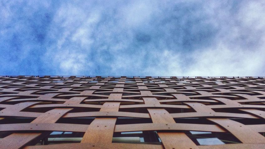 Embrace Urban Life Sky Pattern Low Angle View Built Structure No People Architecture Cloud - Sky The Architect - 2018 EyeEm Awards #urbanana: The Urban Playground