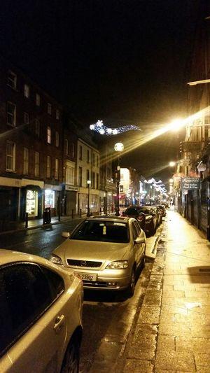 Caple Street Dublin, Ireland Night Photography