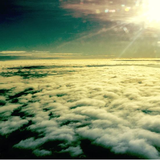 From A Airplane Window Sky Matogrosso Juina Starting A Trip Clouds And Sky
