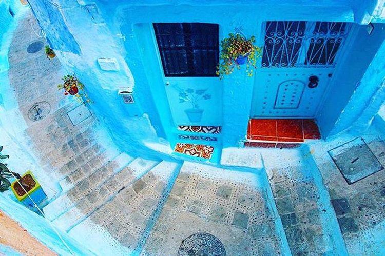 This place is amazing, Visitchefchaouen . Chefchauen Chefchaouencity Thebluepearlchefchaouen Thebluepearl Blue Morocco Travel Maroc Marruecos Chaouen Chefchaouen