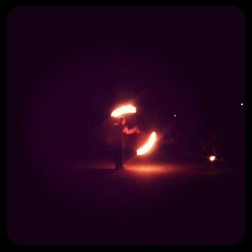 Firefly Fire Dance
