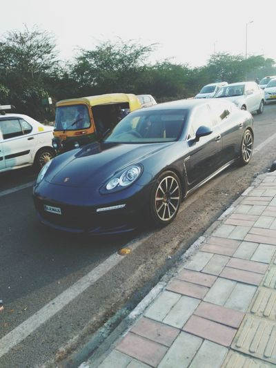 Porsche Porsche Panamera Caught In Camera Exotic Beauty  Transportation Traffic Car Exotic Cars Love This Brand