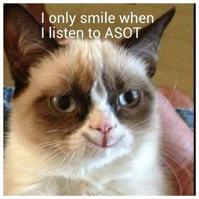 The happiness we all get when listening to asot ASOT Armadamusic Trancefamily Trance