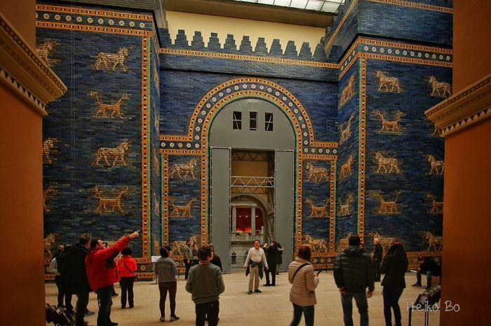 Ischtar Tor ,Pergamon Museum Berlin Heikobo Ischtar Tor Pergamonmuseum Berlin Museumsinsel Berlin Museumsinsel