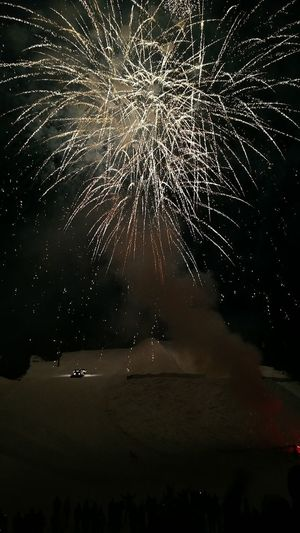 Happy New Year, to all, hope this next year is your best yet! Ski Groomer Snowcat NoEditNoFilter Throughmyeyes EyeEm Best Shots EyeEm Gallery Winter Fireworks New Year's Ski Colorado Night Exploding No People Sea Firework Display Water Outdoors