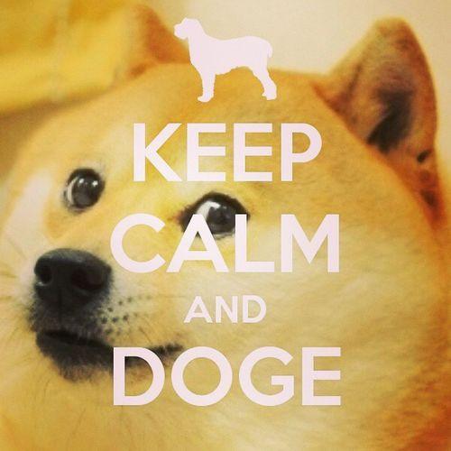KeepcalmandDOGE LoveDOGE LOL Doge ??☺?