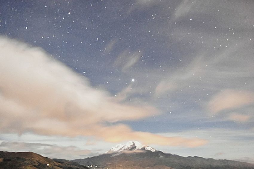 Awakening Of Nature Mountain Star - Space Astronomy Cloud - Sky No People Milky Way Beauty In Nature Outdoors Landscape EyeEmNewHere Ecuador🇪🇨 Nature Space Tranquil Scene The Week On EyeEm