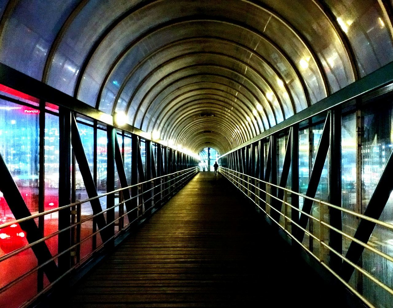 the way forward, diminishing perspective, illuminated, transportation, indoors, architecture, arch, tunnel, built structure, day, no people