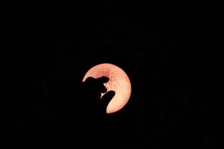 月と見せかけて、、、 Okinawa Miyako Moon 月 Japan Light Landscape Aoshi Sky