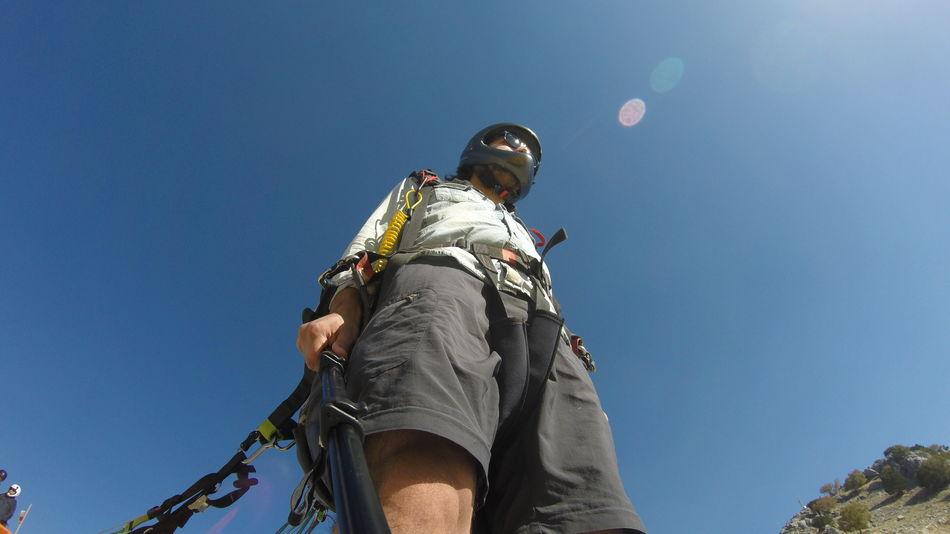 Action Beauty In Nature Bestoftheday Blue Extreme Sports Fethiye Fly Muğla,Türkiye Paragliding Sunlight View