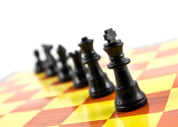 Chess Strategy Chess Piece Leisure Games Chess Board Pawn - Chess Piece Checked Pattern King - Chess Piece Competition Challenge Knight - Chess Piece No People Multi Colored Queen - Chess Piece Indoors  Close-up Day Business