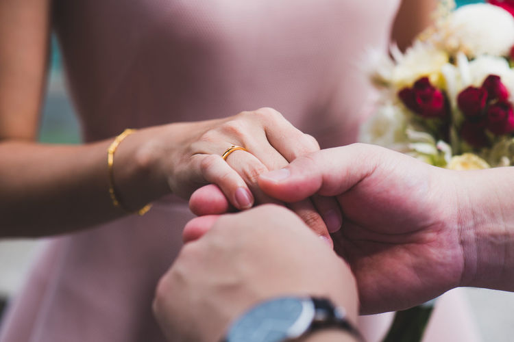 Human Hand Hand Human Body Part Two People Togetherness Positive Emotion Love Bonding Women Adult Men Holding Emotion Body Part People Females Real People Close-up Holding Hands Family Couple - Relationship Finger Care