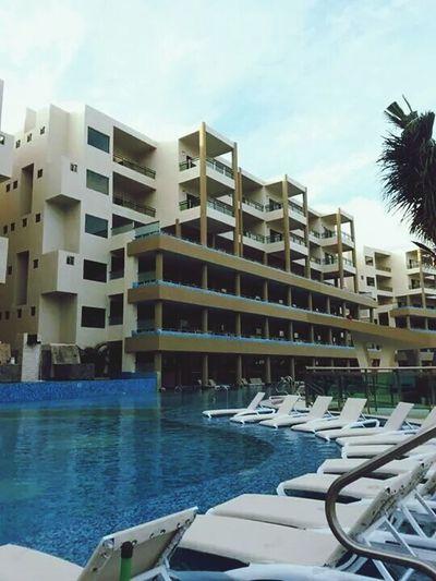 Hotel Pool Poolday ♥ EyeEm Best Shots Building Buildings & Sky ♡