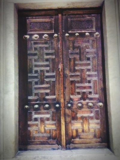 #Sultanahmet Textured  Door Safety Metal Closed Close-up Architecture Built Structure