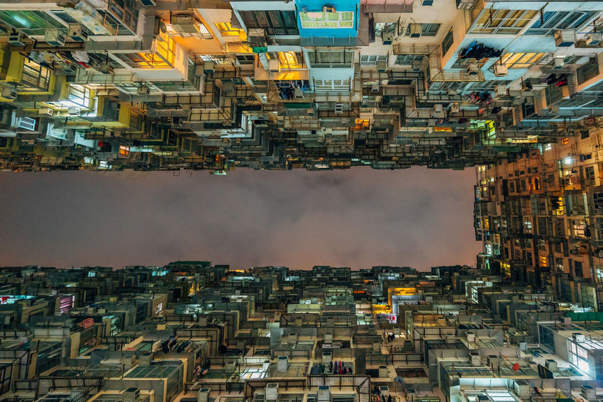 Montane Mansion Yick Fat Building Architecture City Lights Building Cityview Night Residential Building Sky