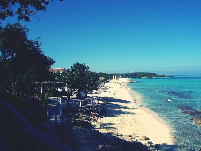 Sea Beach Paradise Holiday Coastline Cuba