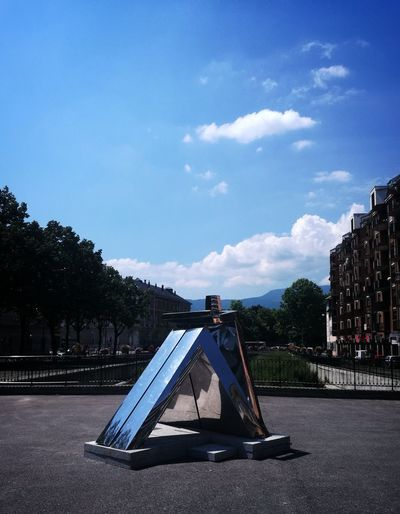 Arts Culture And Entertainment Playground No People Chambery Outdoors Sculpture In The City