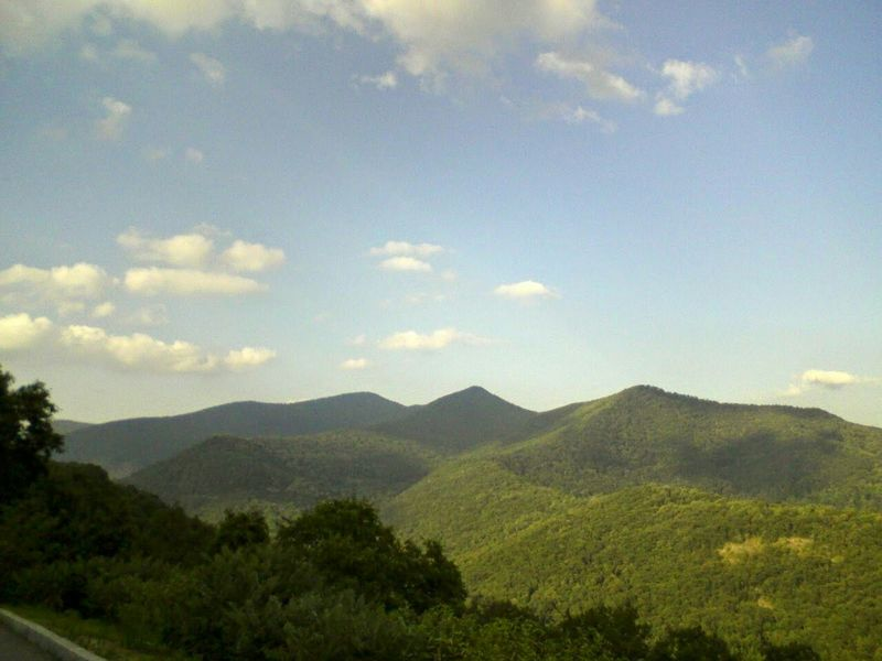 looking over the beautiful Mountains of NC from along top of the Blue Ridge Parkway Check This Out Enjoying Life Relaxing