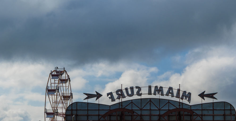 Amusement Park Ride Architecture Back To Front Built Structure Cloud Cloud - Sky Cloudy Day Ferris Wheel Fun Fair High Section London Low Angle View Modern Nature No People Outdoors Overcast Sky Weather