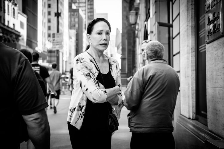 Lensculture Photo Photography Black & White New York City Monochrome The Week On Eyem EyeEm Gallery EyeEm Best Shots - Black + White The Street Photographer FUJIFILM X-T1 Portrait Photographer People