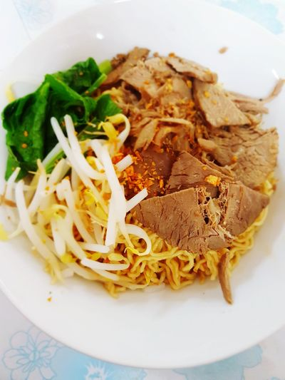 mee kolok Borneo Borneo Island Mee Kolok Mee Kolok Tauge Beef Breakfast Lunch Dinner Authentic Sarawak Food And Drink Food Indoors  Plate Healthy Eating Ready-to-eat No People Day Freshness Close-up
