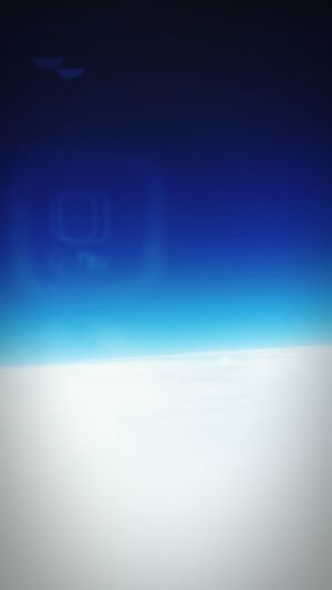 Head In The Clouds From An Airplane Window Going To Russia Business Class Italians Mr