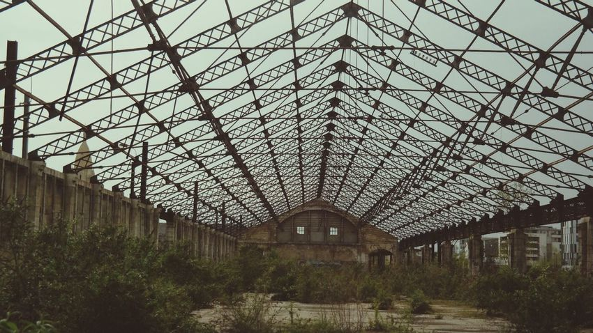 Abandoned Train Station Architecture Mission Mystery