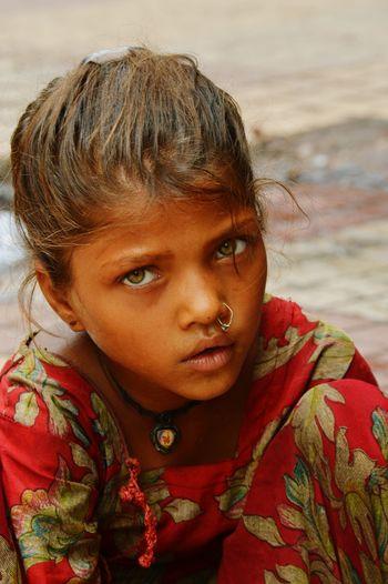 Portrait PoorGirl Streetphotography Nehru Place Boldexpressions