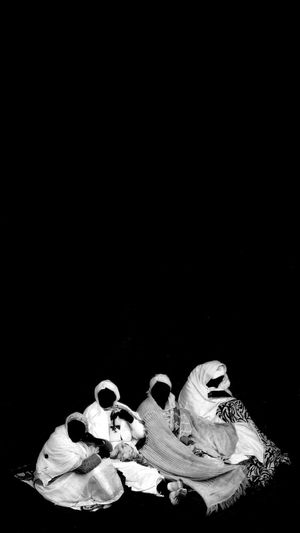 Ethiopia Africa Pilgrimage Lalibela Leddet Orthodox Christianity Church Rock Church Blackandwhite People Women Place Of Worship The Creative - 2019 EyeEm Awards