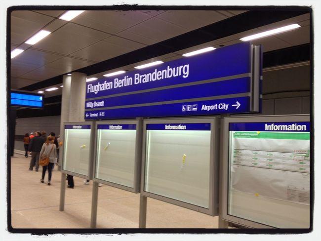 Bahnhof Familienfest Am BER Berlin