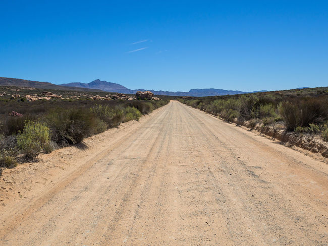 Dirt road and landscape in Cederberg Wilderness Mountain Area, South Africa Cederberg Road South Africa Cedarberg Diminishing Perspective Dirt Road Dirt Track
