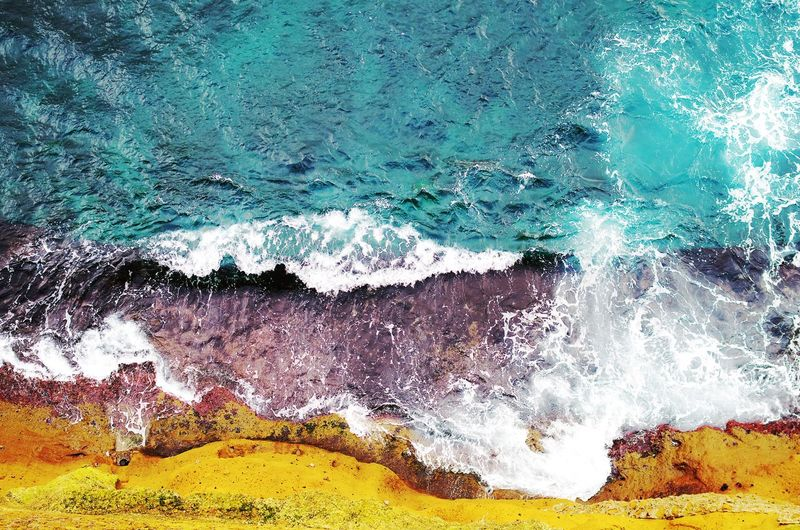 contro mare Mare Sea Colors Energy Water Backgrounds Full Frame Multi Colored Textured  Abstract Pattern Close-up Dissolving Surface The Great Outdoors - 2019 EyeEm Awards