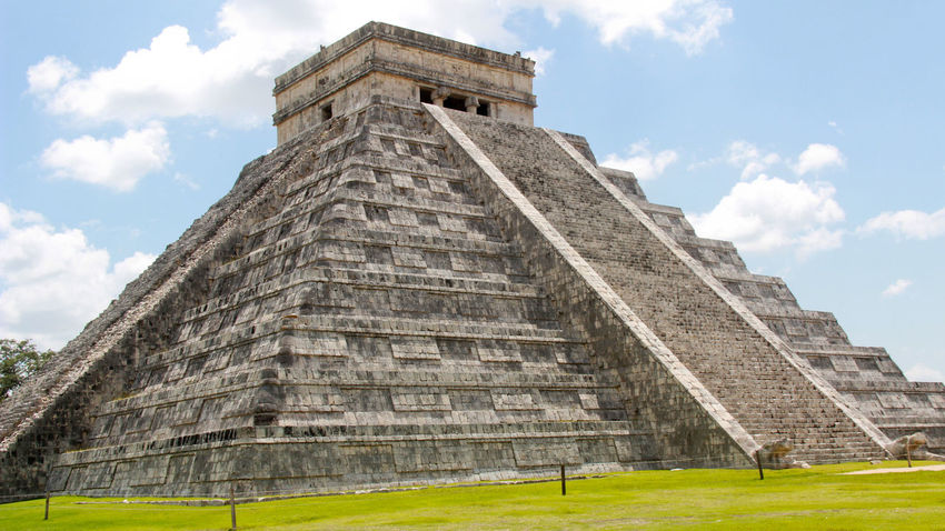 Chichen Itza is one of most visited archeological monuments in Mexico. Monument Chichen Itza Mexico Riviera Maya Archeological Mayan Mayans Mayan Ruins Mayan Wonders