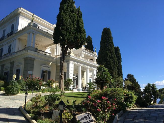 Architecture Corfu, Greece Achilleion Sissy  Sissi's Palace