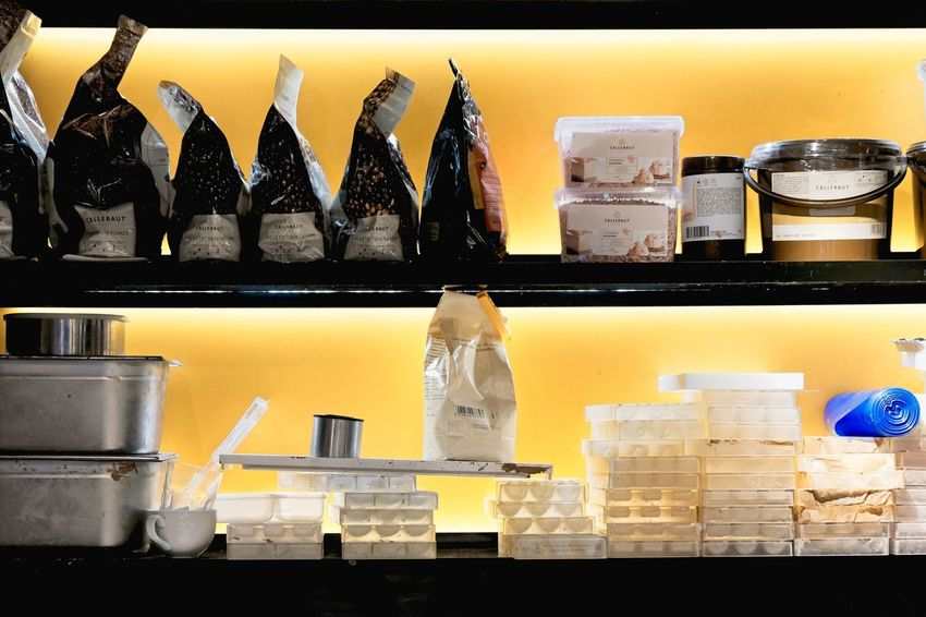 EyeEm Best Shots Arrangement Bottle Choice Close-up Container Eye4photography  Food Food And Drink Freshness Glass In A Row Indoors  Indulgence Jar Large Group Of Objects No People Retail Display Shelf Shootermag Side By Side Still Life Sweet Food Table Variation