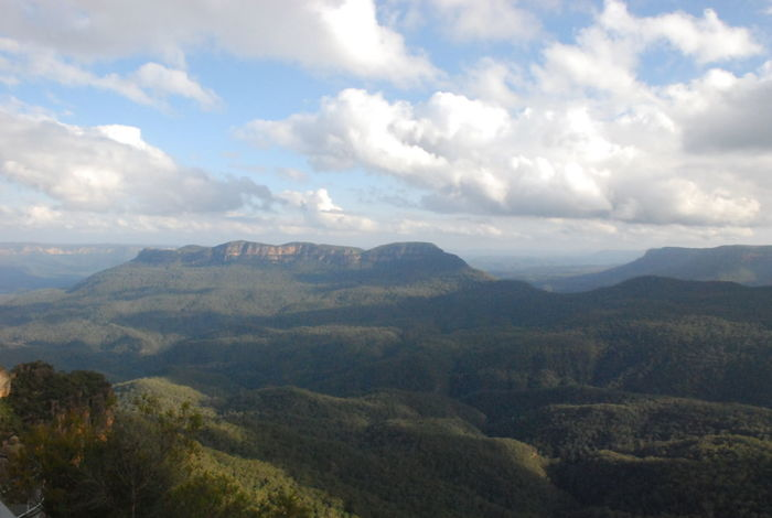Photos of Blue Mountains National Park, Australia 2012 Beauty In Nature Cloud - Sky Day Idyllic Landscape Mountain Mountain Range Nature No People Outdoors Scenics Sky Tranquil Scene Tranquility