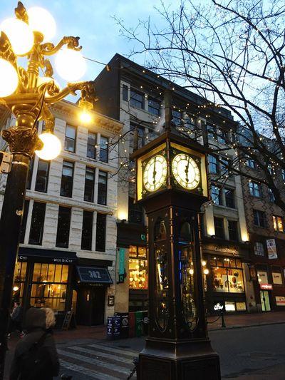 バンクーバー 蒸気時計 海外旅行 Vancouver Steamclock