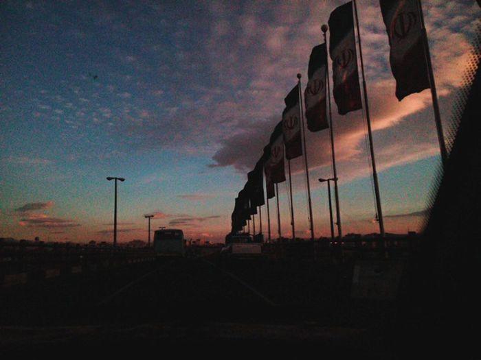 Sky Sunset Zanjan First Eyeem Photo