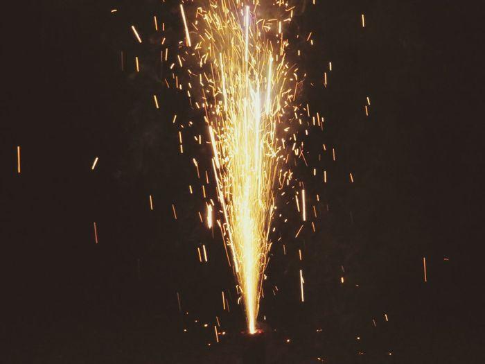 Feuerwerk Silvester Taking Photos