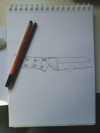 Me Girl Bra Drawing Ink Art, Drawing, Creativity Black And White Illustration Art ArtWork