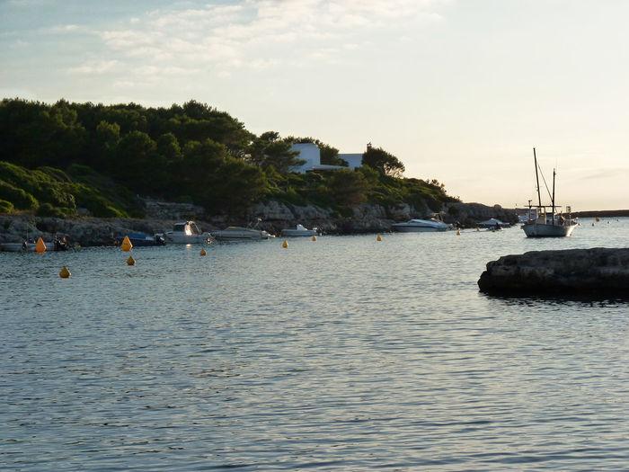 Atardecer En La Isla De Menorca #sea Beach Beauty In Nature Cloud - Sky Day No People Sea Sunset Water The Great Outdoors - 2017 EyeEm Awards