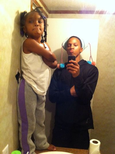 These Too Being Silly