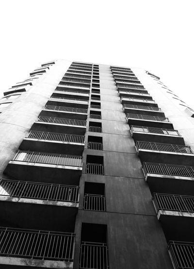 Blackandwhite City Skyscraper Façade Sky Architecture Building Exterior Built Structure Tall - High My Best Photo The Architect - 2019 EyeEm Awards