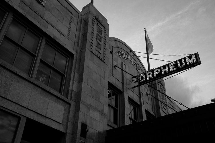 The Orpheum Signage Downtown Explore Allday