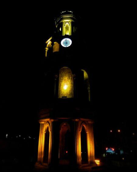Built Structure Building Exterior Clock Face Outdoors City Time