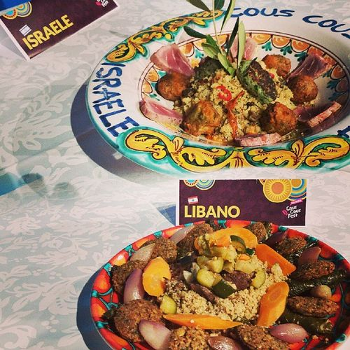 Couscousfest Sanvitolocapo Summer Líbano Israel Food Foodporn Foodpic Igerspalermo Sicily Instatravel